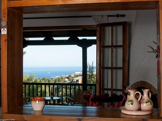 Sea view Villa Stella: enjoy the sea & visit Athens - Nea Makri vacation rentals