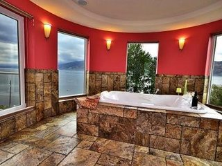 Beach Ave Castle Luxury Vacation Rental--Okanagan Lake Front - Peachland vacation rentals