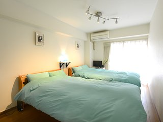Nakano 1BR TWIN Apartment Type-A1 (NFC1BRT-A1) 1F - Nakano vacation rentals