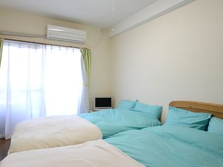 Nakano 1BR TWIN Apartment Type-A2 (NFC1BRT-A2) 2F - Nakano vacation rentals