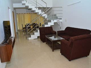 3 BEDROOM SERVICE APARTMENT In Ruby Residency By A2z - Canacona vacation rentals