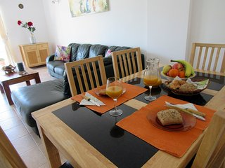 Apartment,with fantastic terrace, AC,Pool,Tennis. - Olhos de Agua vacation rentals
