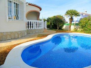 Villa Maria is a modern 3 bed Denia villa with private pool, wi-fi & air con - Denia vacation rentals