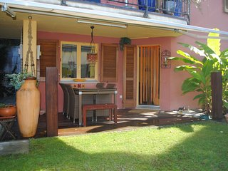 Garden Apartment with sea view & whirlpool Ticino - San Nazzaro vacation rentals