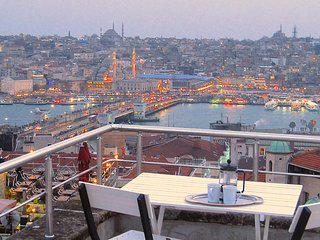 Brand new renovation with Terrace views in Galata! - Istanbul vacation rentals