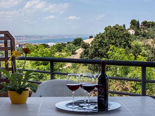 Spacious modern apartment with terrace and fantastic sea view - Ancona vacation rentals
