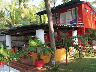 Oceanfront Tropical Paradise Viewing the Ocean and Estuary (Barra de Santiago) - Barra de Santiago vacation rentals