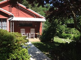Private Cottage with Bold Stream, and Trout Pond - Rosman vacation rentals