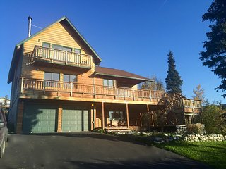 Mountain Chalet with Sweeping Inlet and Mountain Views - Anchorage vacation rentals