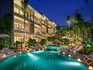 A2 beautiful 55 sqm furnished apartment 300m from batubolong beach - Canggu vacation rentals