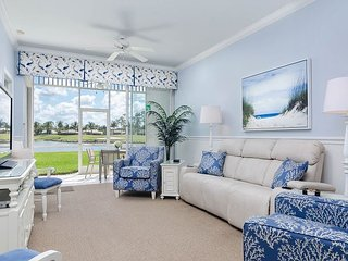 Greenlinks 1414 - Best View in Lely, Renovated Coastal Golf Villa! - Naples vacation rentals
