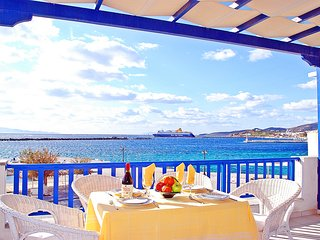 Spacious Seafront House with Magnificent Views near Town and Beach - Tinos Town vacation rentals