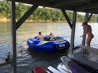 Lakefront with dock, mowed to water - Shell Knob vacation rentals