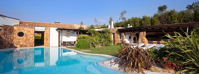 Villa Rossa swimming pool - villa rossa - Porto Cervo - rentals