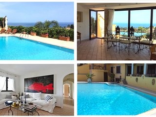 TAORMINA MATIS VILLA with Private Pool + Sea View Terrace Taormina - Taormina vacation rentals