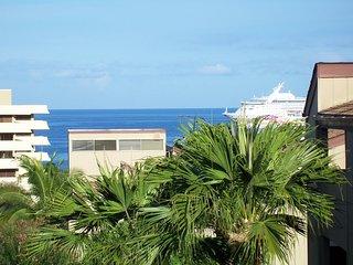 Ocean View Kailua-Kona Hawaii Condo Steps To Ocean - Kailua-Kona vacation rentals