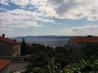 Apartment Marino 2+1,full equipped appartmants,private parking,terrace,sea view - Novi Vinodolski vacation rentals