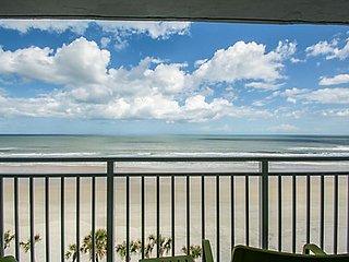 Oceanfront Condo Available July15, 2017 - July 22, 2017 - Daytona Beach Shores vacation rentals