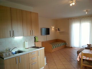 Apartment with a bbq terrace in Krk - Krk vacation rentals
