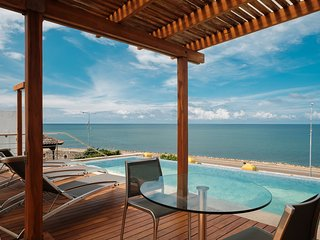 Car010-Beautiful house with pools and seaview in the Historical Center - Cartagena vacation rentals