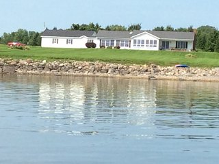 Gorgeous Lake Champlain Home, Direct Lake Access, Mountain Views & Private Beach - Alburgh vacation rentals