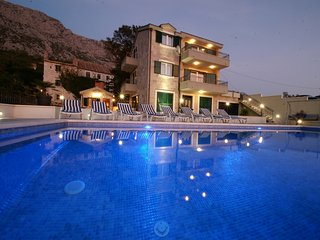 Stone Villa**** Minea with swimming pool, stunning sea view, gym, 4 bedrooms - Tucepi vacation rentals