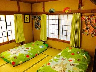 *TOTORO* WHOLE FAMILY HOUSE! TRAIN 2MINS WALK! Park, Shops, Food! - Arakawa vacation rentals