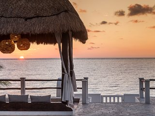 Beautiful Beachfront Villa - an oasis by the sea. - Puerto Morelos vacation rentals