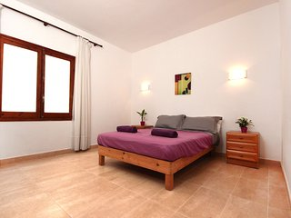 Huge central San An apartment with large terrace & BBQ. Great for large groups - Sant Antoni de Portmany vacation rentals