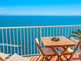LivingAmalfi Blue Relaxation 1, stunning sea view, wifi, air conditioning - Vettica di Amalfi vacation rentals