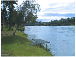 Log home on the famous Kenai River with private fishing - Soldotna vacation rentals