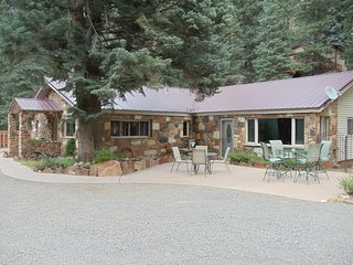 Ouray Stone House: 1 floor, patio, mountain views - Ouray vacation rentals