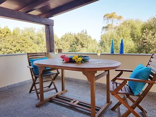 Bright 2 bedroom Sos Alinos Condo with Balcony - Sos Alinos vacation rentals