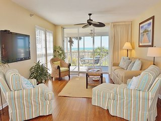 Dazzling superior two bedroom Gulf front villa - Cape Haze vacation rentals