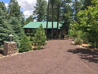 Nice Cabin with Deck and Hot Tub - Overgaard vacation rentals