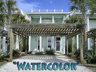 Watercolor - Private Pool & Rooftop Sundeck! 3 BR/3.5 BTH. Beautiful! - Panama City Beach vacation rentals