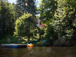 Charming Mille-Isles vacation Chalet with Deck - Mille-Isles vacation rentals