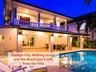 ★★★★★ Villa Waree with pool, just 5 minutes from beach - Pattaya vacation rentals
