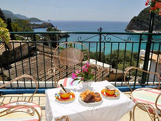 Sea view apartment for 2-5 persons 300m from beach - Paleokastritsa vacation rentals