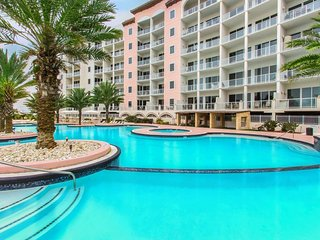 Beachfront condo w/ shared pool, hot tub, and other top resort amenities! - Tiki Island vacation rentals