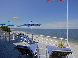 BR's all Ocean Views Largest Beach House on Beach! Rent 1wk get 2nd 1/2 off! - Wading River vacation rentals