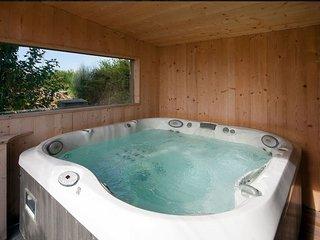 Espace Ker Gana : Jacuzzi, sauna et poêle à bois, Gîte charmant 4 personnes - Plourin vacation rentals