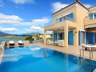 Villa Nisa: Elegant Villa with 5 Bedrooms, Private Pool and Sea View - Kilada vacation rentals