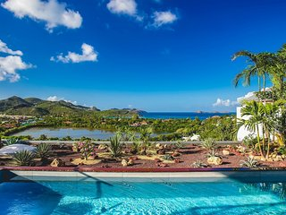 Resplendent Hilltop St Barts Luxury Villa with Pool and Ocean Views - Saint Jean vacation rentals