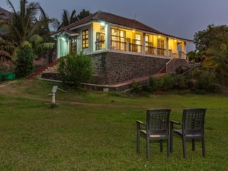 SaffronStays Salt Rim - Beachfront villa near Alibaug - Alibaug vacation rentals