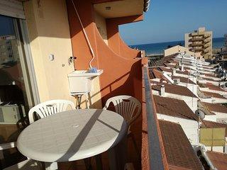 Résidence EUROMAR 1ère ligne de plage. Paseo maritime et plage à 80 m - Peniscola vacation rentals