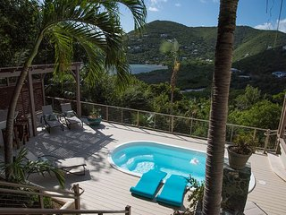 CASA DEL PALMAS - Perfectly Private Caribbean Comfort - Virgin Islands National Park vacation rentals