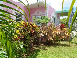 A Pink Studio cottage in a Tropical Oasis - Five Islands Village vacation rentals