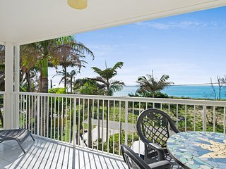 Views of Moreton Island from balcony at 4/64 Rickman Pde - Bribie Island vacation rentals