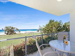 Spindrift U1 - Ground floor absolute beachfront - Tugun vacation rentals